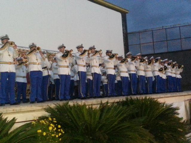 Mula, Alguazas, Abarán y OJE y Cruz de los Espejos de Archena, en el II Encuentro de Bandas de Tambores y Cornetas - 3, Foto 3