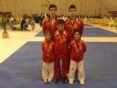 El Club Budoka de Torre-Pacheco obtiene 2 platas y 3 bronces en el Open Internacional de Taekwondo