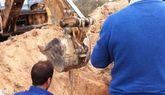 Continúan las obras de reparación de la red de abastecimiento de agua potable en El Raiguero tras las averías producidas este fin de semana