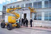 La alcaldesa visita el Centro de Salud 'Totana Sur', en la urbanización 'La Báscula', con el fin de conocer el desarrollo del estado de las obras