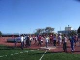El colegio Reina Sofía participó en la final regional de atletismo alevín de Deporte Escolar, celebrada en Lorca