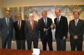 El Alcalde de Puerto Lumbreras recibe la medalla del Resucitado de Cartagena