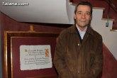 Pedro Marín Ayala pregonará este domingo la Semana Santa de Totana´2013