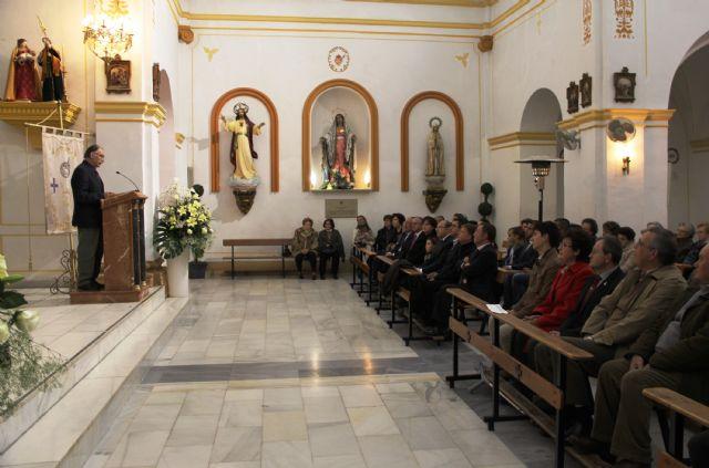El artista Juan Bautista Sanz pregonó la Semana Santa lumbrerense - 1, Foto 1
