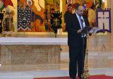 Enrique Centeno alienta el sentimiento cofrade de los más jóvenes y resalta los 'mil contrastes' de la Semana Santa pinatarense