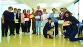El Centro Social de Personas Mayores de Archena acoge a alumnos en prácticas de la Universidad de Murcia