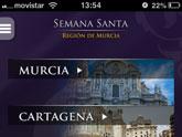 Una aplicaci�n m�vil gratuita ofrece toda la informaci�n sobre las procesiones de Inter�s Tur�stico Internacional en la Regi�n