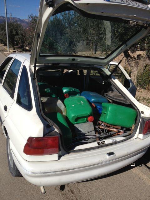La Policía Local de Totana recupera varios bidones de gasoil, maquinaria y objetos procedentes de robos en zonas agrícolas, Foto 1
