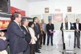 El Obispo de la Diocesis de Cartagena bendice el nuevo economato de Torre-Pacheco