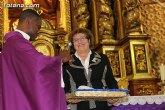 La imagen de Santa María Magdalena lucirá este año un nuevo 'manto amantillado'