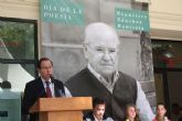El Alcalde se suma al homenaje a Francisco Sánchez Bautista en el Día Mundial de la Poesía