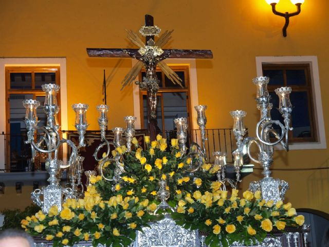 Sale la primera procesión a las calles de Alcantarilla, la del viernes de Dolores - 2, Foto 2