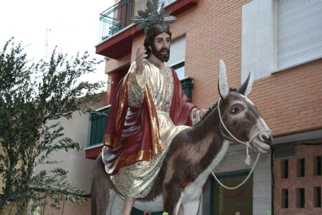 Sale la primera procesión a las calles de Alcantarilla, la del viernes de Dolores - 3, Foto 3