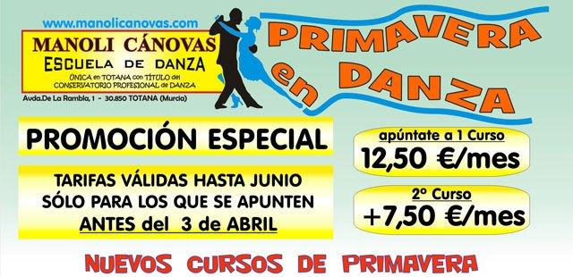 Cursos de Primavera Esc.de Danza Manoli Cánovas. Últimos días de la super promoción - 2, Foto 2