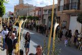 Las palmas y las ramas de olivo inundan un año más Las Torres de Cotillas