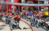 El maratón de ciclo cierra las I Jornadas de Mujer y Deporte 'Muévete por ti, muévete por ella'