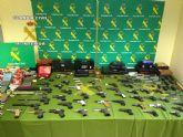 La Guardia Civil desarticula una organizaci�n criminal  dedicada al tr�fico de armas en el mercado negro