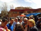 Los vendedores de mercadillo se rebelan ante el cambio de ubicación del mercado de La Alberca y la subida abusiva de tasas