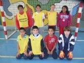 La concejalía de Deportes organizó la segunda jornada de la fase local de futbol sala alevín de Deporte Escolar