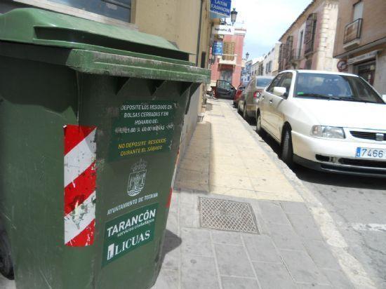 La concejalía de Mantenimiento Integral de la Ciudad refuerza el servicio de recogida de residuos sólidos durante los días festivos de la Semana Santa, Foto 1