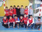La concejalía de Deportes organizó la segunda jornada de la fase local de fútbol sala alevín de Deporte Escolar