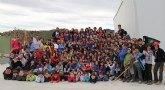 Cerca de 200 Scouts del grupo del Barrio del Carmen de Murcia celebran su campamento de primavera en Puerto Lumbreras