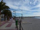 La concejalía de Turismo acondiciona las playas ante la llegada de la Semana Santa