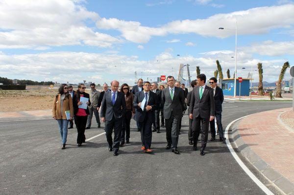 El Parque Industrial de Alhama de Murcia ha sido ampliado y ha visto mejorados sus accesos, Foto 4