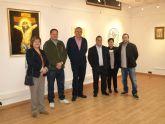 El Alcalde de Tíjola (Almería) inaugura la Exposición Nacional de los Templarios de Jumilla