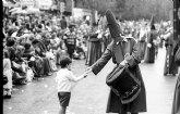 La página web del Archivo General ofrece imágenes de los siglos XIX y XX de la Semana Santa en la Región