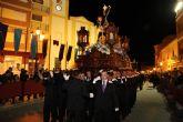 ElNazarenoprotagonizó la noche de Miércoles Santo en Puerto Lumbreras