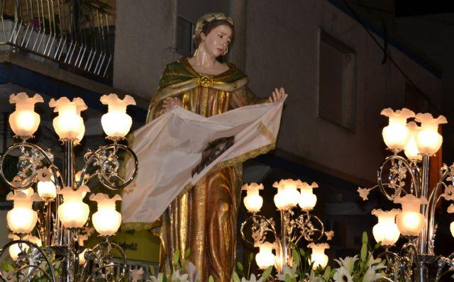 Devoción y fervor en el encuentro del Jueves Santo y el Vía Crucis del Cristo del Perdón - 5, Foto 5