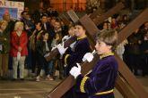 Devoción y fervor en el encuentro del Jueves Santo y el Vía Crucis del Cristo del Perdón