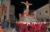 Emotiva Procesión del Silencio con el Stmo. Cristo de la Fe en la noche de Jueves Santo 2013