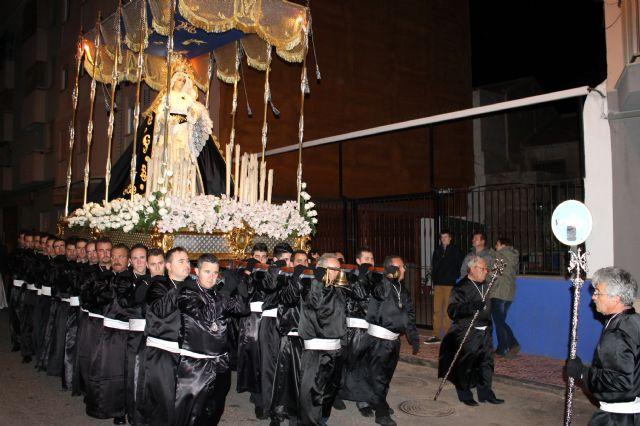 Puerto de Mazarrón vuelve a llenarse de público para deleitarse con el Santo Entierro - 3, Foto 3