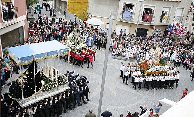Puerto Lumbreras culmina su Semana Santa 2013 con la procesión del Encuentro - 1, Foto 1