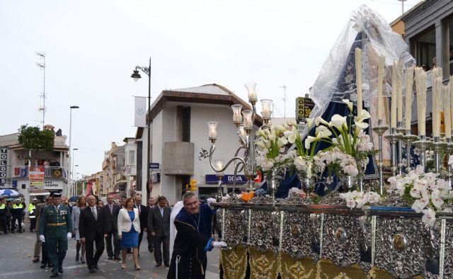 La lluvia no impide la celebración del Encuentro del Domingo de Resurrección en San Pedro del Pinatar - 1, Foto 1