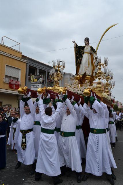 La lluvia no impide la celebración del Encuentro del Domingo de Resurrección en San Pedro del Pinatar - 5, Foto 5