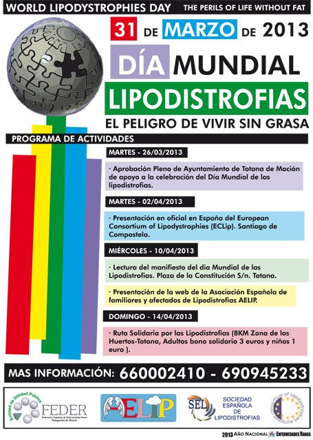Hoy, 31 de marzo, se celebra el Día Mundial de las lipodistrofias - 2, Foto 2