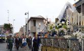 La lluvia no impide la celebración del Encuentro del Domingo de Resurrección en San Pedro del Pinatar