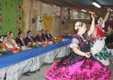 Cámara preside la inauguración de las barracas acompañado por las Reinas de la Huerta 2013