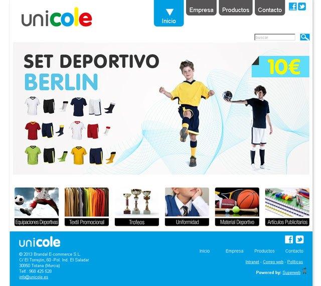 Unicole.es, la tienda online al servicio de la comunidad escolar, Foto 1