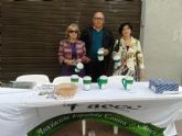 La Junta Local de Totana de la AECC recauda 2.699 euros en la cuestación realizada el pasado Domingo de Ramos