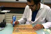 El Centro de Restauración de Bienes Culturales devuelve el esplendor al 'Libro de acuerdos de 1701 a 1720'