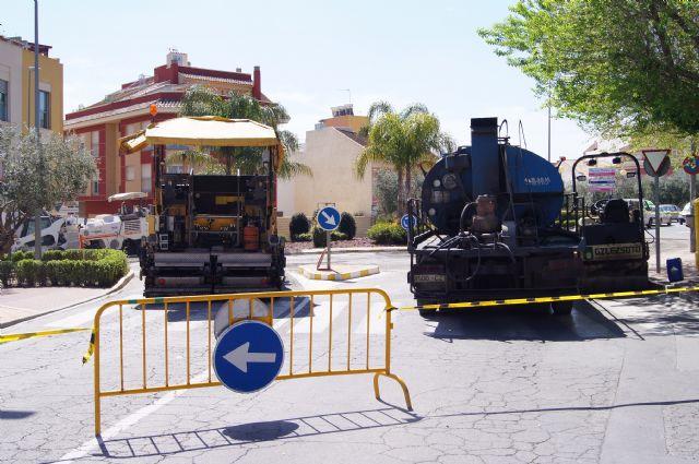 Comienzan las obras de adecuación integral de la calle Alhama y la glorieta Alfonso Navarro, Foto 1