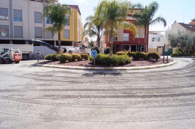 Comienzan las obras de adecuación integral de la calle Alhama y la glorieta Alfonso Navarro, Foto 2