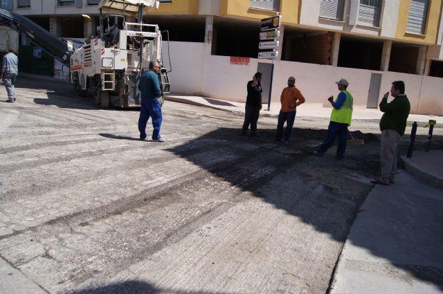 Comienzan las obras de adecuación integral de la calle Alhama y la glorieta Alfonso Navarro, Foto 3