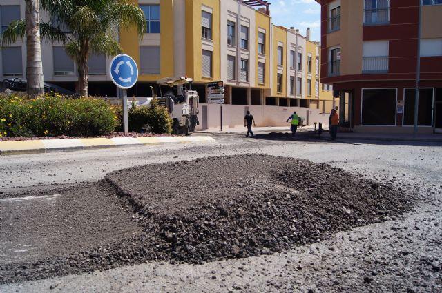 Comienzan las obras de adecuación integral de la calle Alhama y la glorieta Alfonso Navarro, Foto 4