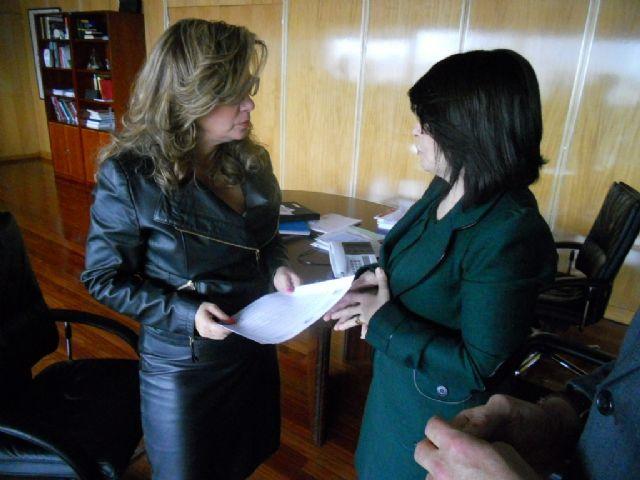 La alcaldesa, en su condición de presidenta de la Asociación Española de Ciudades de la Cerámica, solicita al Ministerio acciones concretas, Foto 2