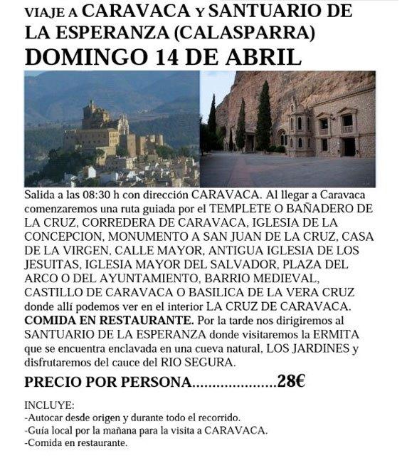La Asociación Cultural El Cañico te lleva a Caravaca, Foto 3